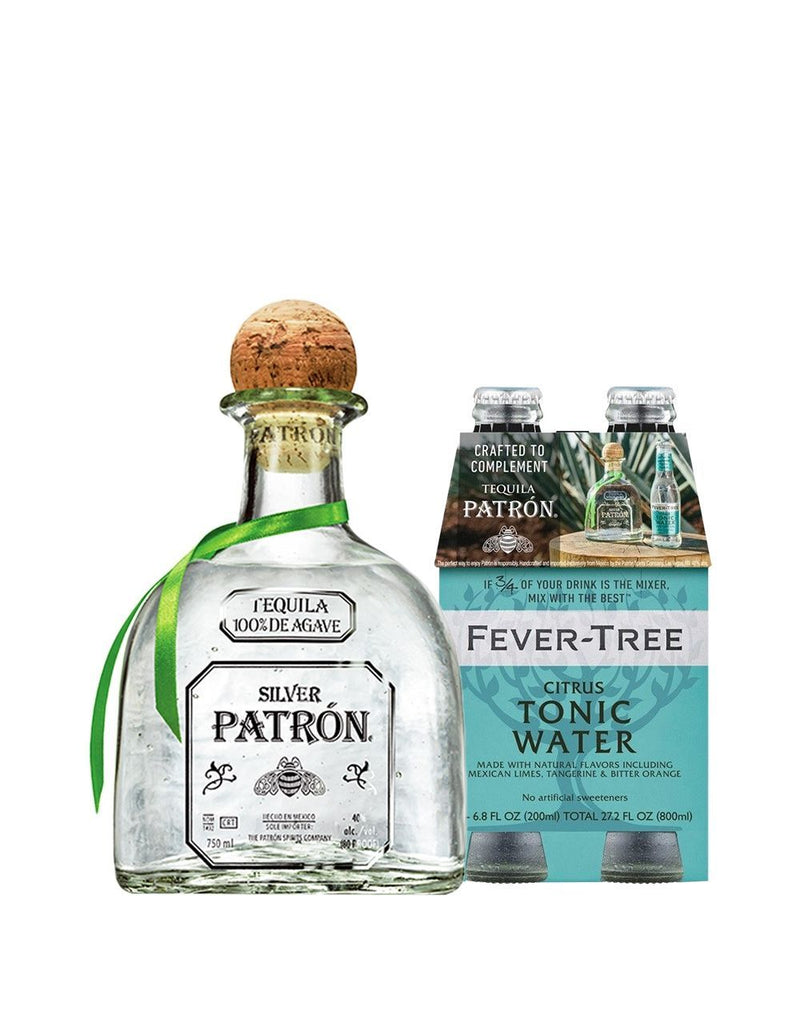 Patrón Silver with Citrus Tonic Water