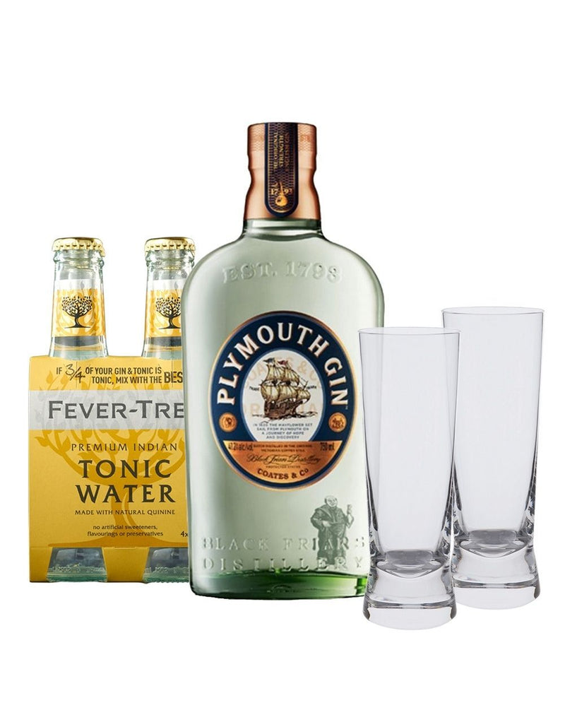 Plymouth Gin & Tonic Gift Set