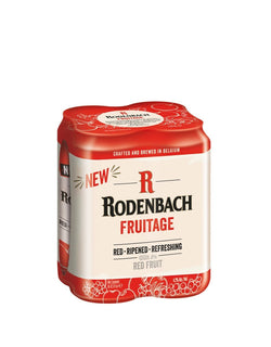 Rodenbach Fruitage (4 pack, 8.5oz cans)
