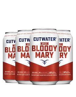 Cutwater Spicy Bloody Mary Can (4 pack)