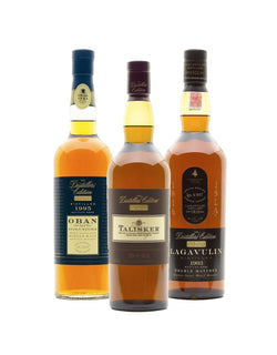 Single Malts Distiller's Edition Collection (3 bottles)