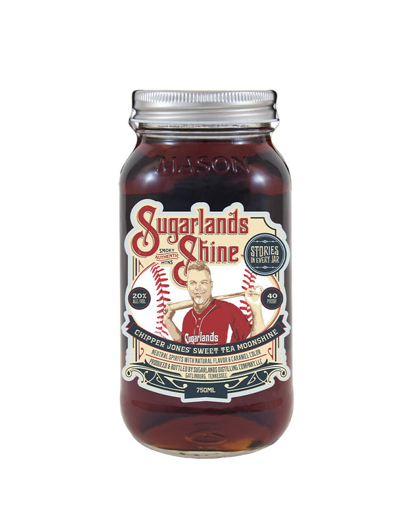 Sugarlands Chipper Jones' Sweet Tea Moonshine