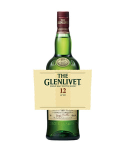 The Glenlivet 12YO with Custom Label