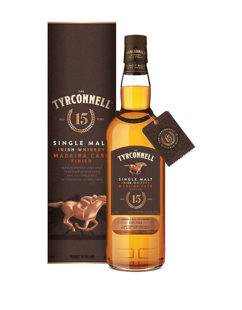 The Tyrconnell® 15 Year Madeira Cask Finish