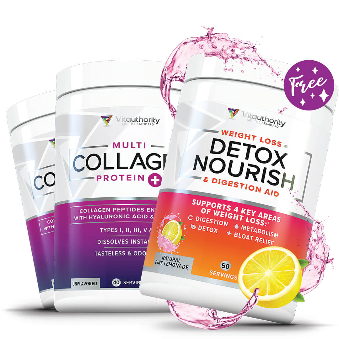 Multi Collagen 2 Pack + Detox Nourish (Pink Lemonade)