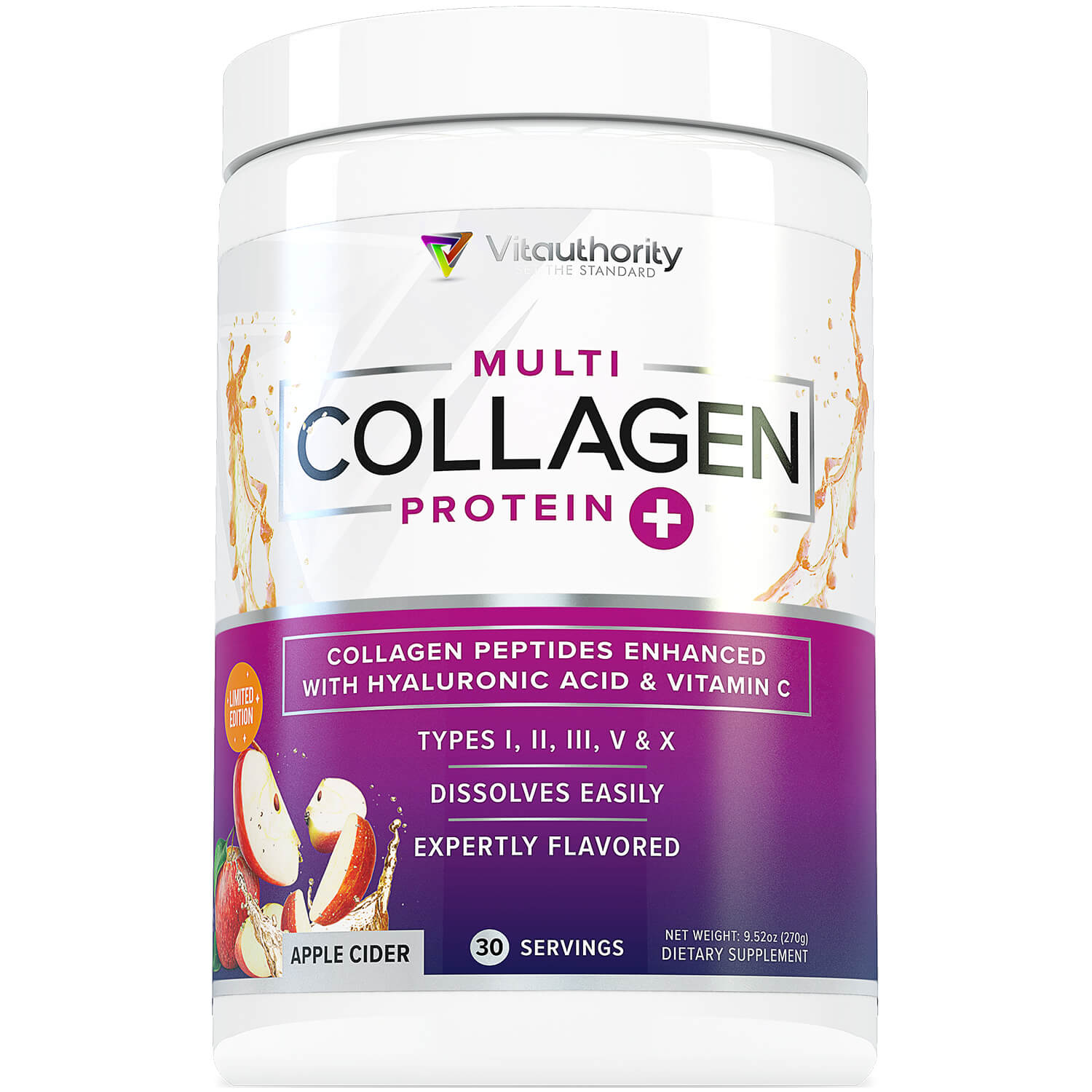 Multi Collagen Peptides - Apple Cider (Limited Edition!)
