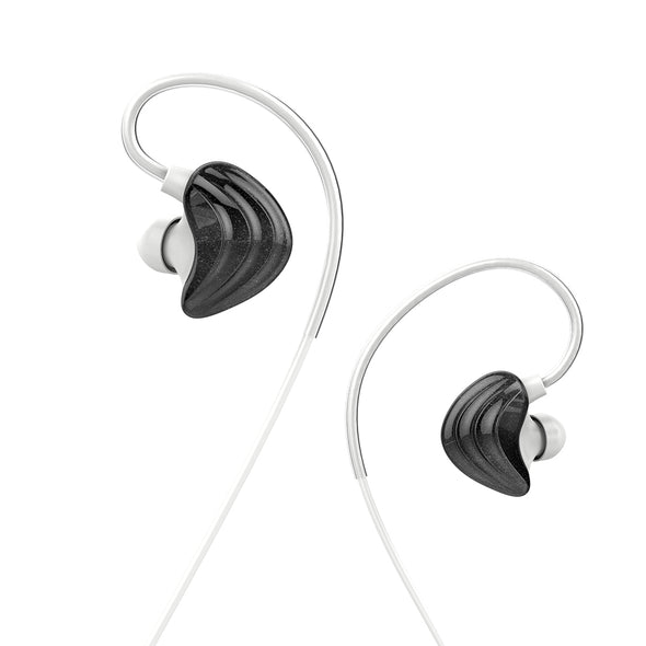 UiiSii T6 Deep Bass Dual Driver Noise-isolating Earphones With Mic