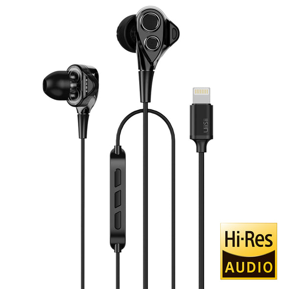 Auriculares UiiSii I8 High-Res Black para iphone