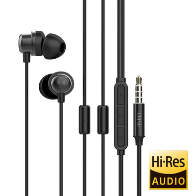 K8 Hybrid Driver Gaming Earphones with Dual Mic