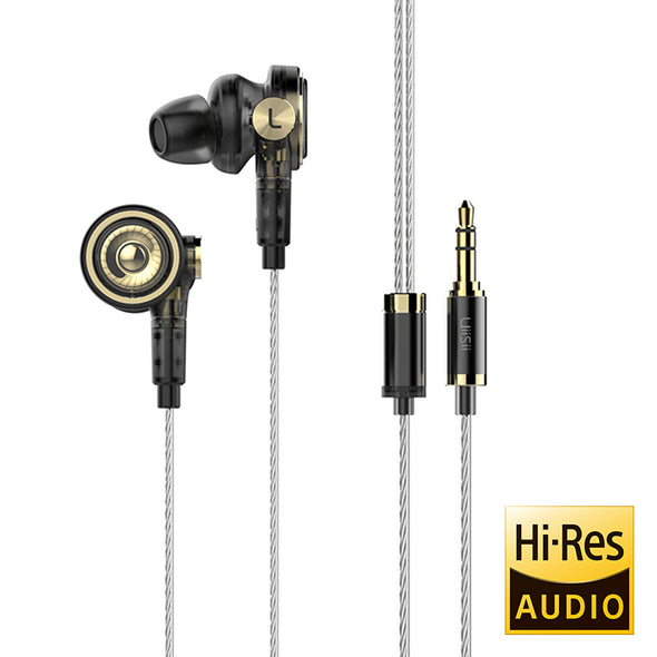 UiiSii BA-T9 Hi-Res Headphones