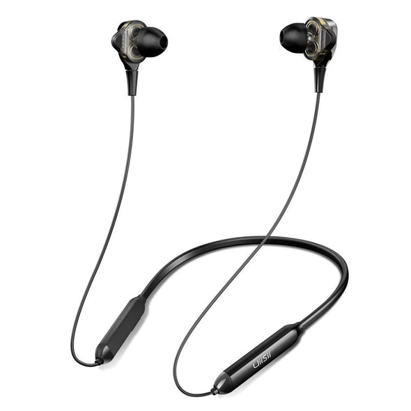 UiiSii BN90J Dual drivers auriculares negros