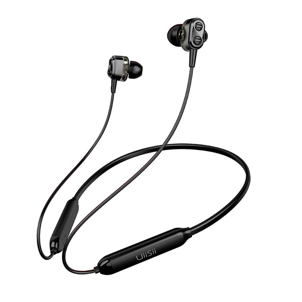UiiSii BN90J Bluetooth 5.0 black earphones