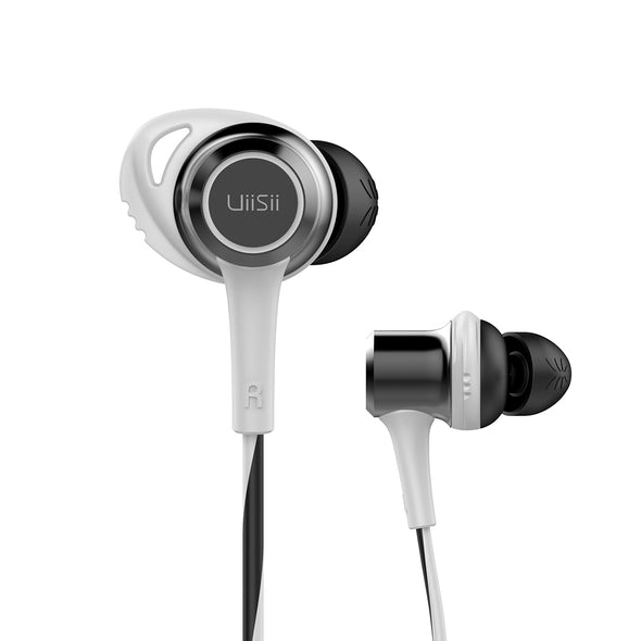 UiiSii BT260 Magnetic White Headphones