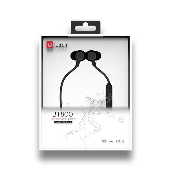 UiiSii BT800 Nipple Silicone earbuds in package
