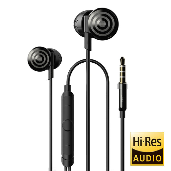 UiiSii Hi-905 High-Res Audio Black Headphones