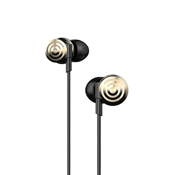 UiiSii Hi-905 3.5mm gold-plated jack Gold headphones