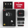 UiiSii Hi-905 Dual Drivers Hybrid Balanced Armature Hi-Res In-ear Earphones package