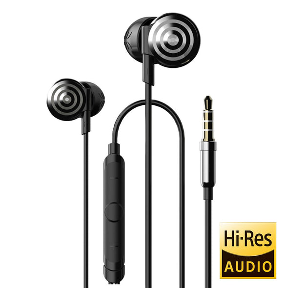 UiiSii Hi-905 In-Ear Wired Silver Headphones