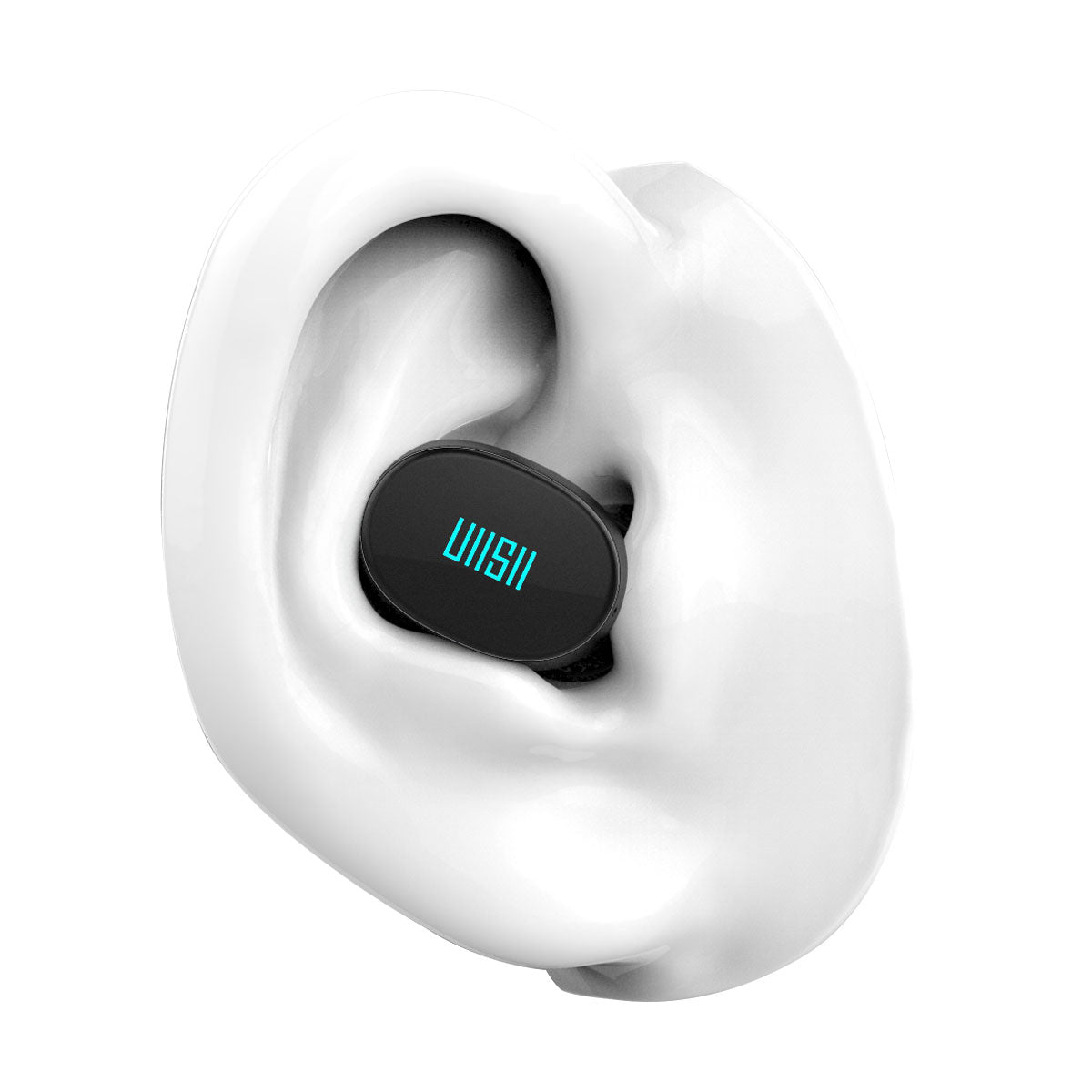 UiiSii TWS16 True Wireless black earbuds