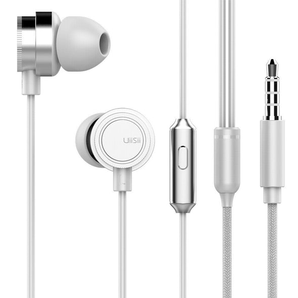 UiiSii HM13 Piston In-Ear Heavy Bass Stereo Headphones with Mic-Uiisii