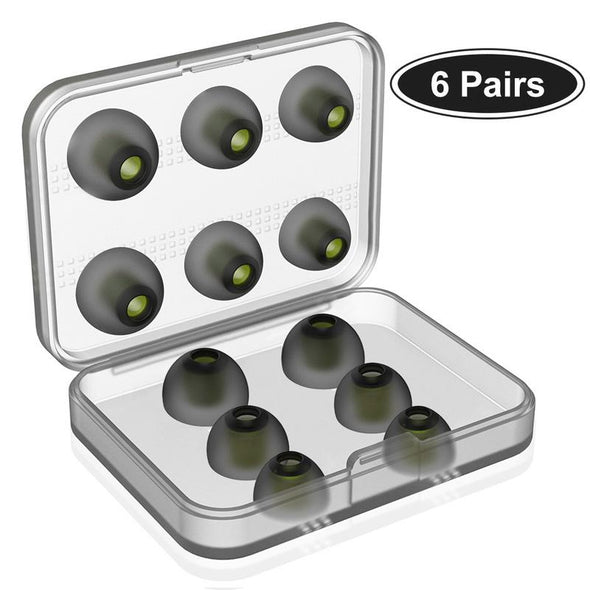Uiisii ​​Reemplazo Auriculares Silicona Eartips-6 Pares