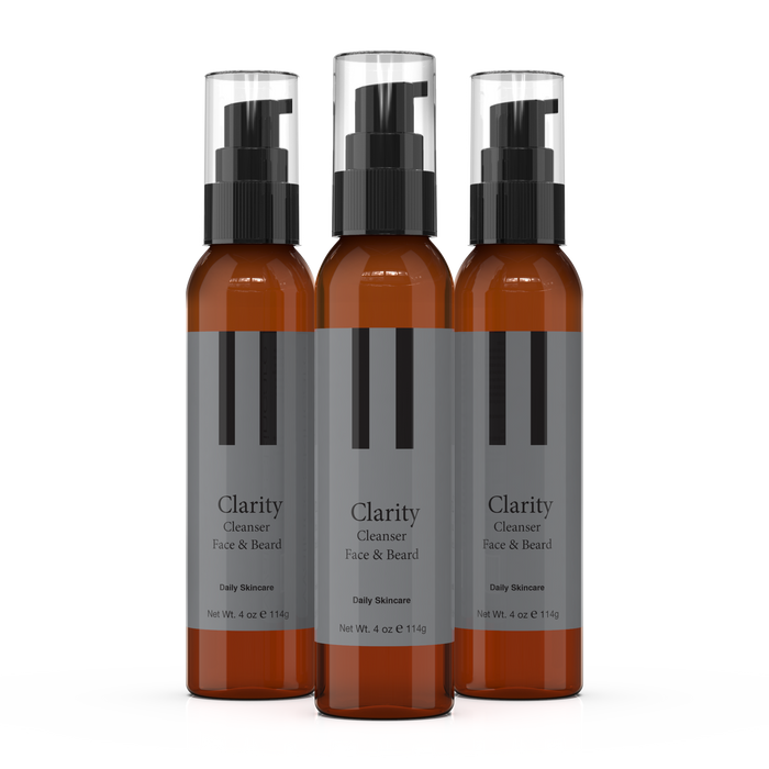 Clarity Skin & Beard Cleanser 4oz