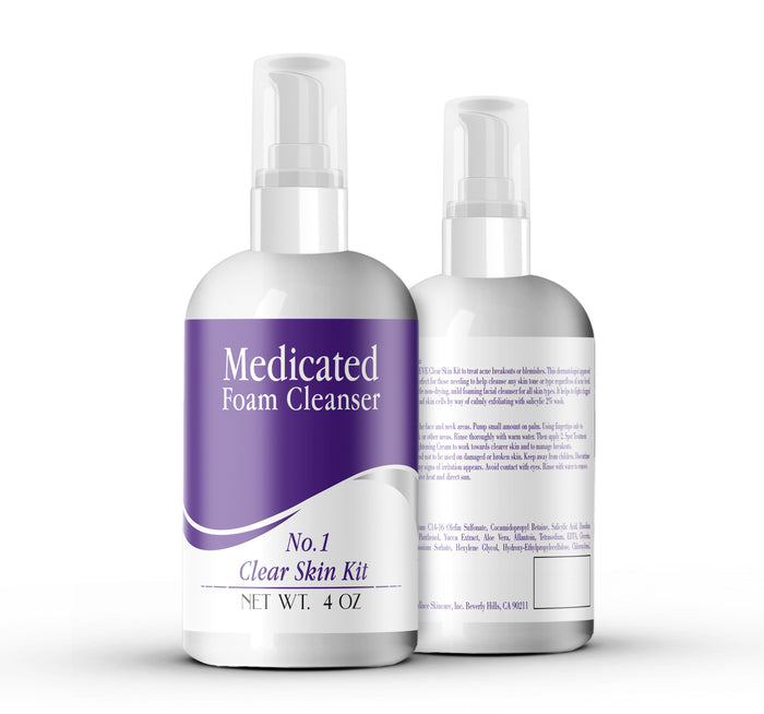 Medicated Foam Cleanser 4oz