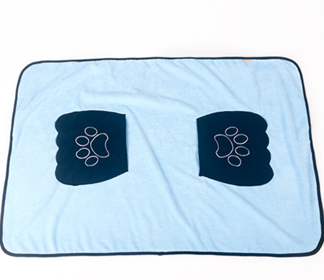 Molly Microfibre Towel | 2 Colors - Playful Pooch Boutique - Online Dog Pet Store
