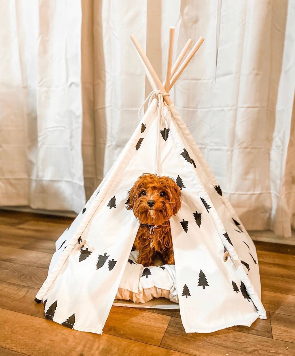 Wanderlust Teepee | Bed Included