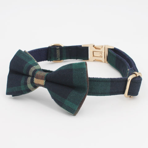 LUXE Emerald Plaid Design