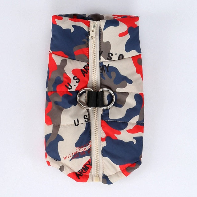 Pepi Puffer Jacket | Camo - Playful Pooch Boutique - Online Dog Pet Store