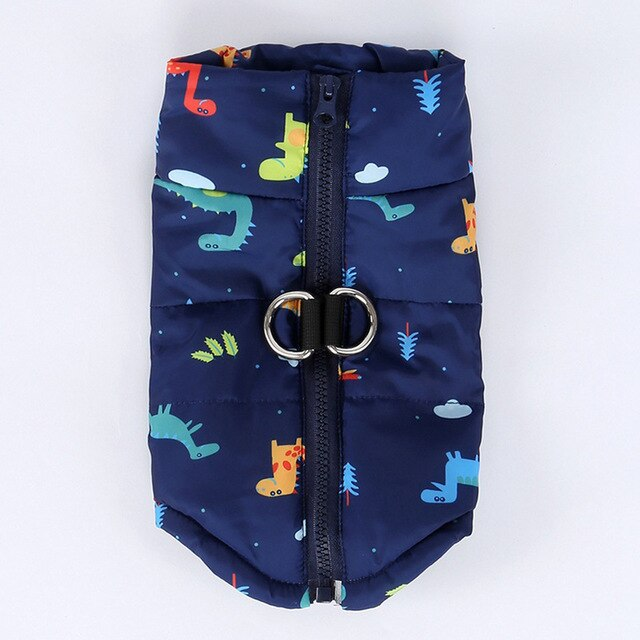 Pepi Puffer Jacket | Dinosaur - Playful Pooch Boutique - Online Dog Pet Store