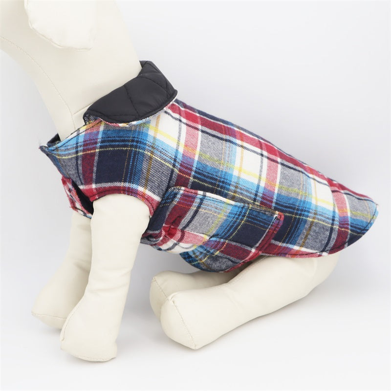 LUXE Chester Check Coat - Playful Pooch Boutique - Online Dog Pet Store