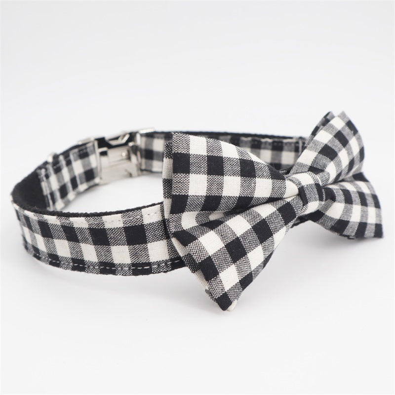 LUXE Floofy Valentine Bowtie Collar - Playful Pooch Boutique - Online Dog Pet Store