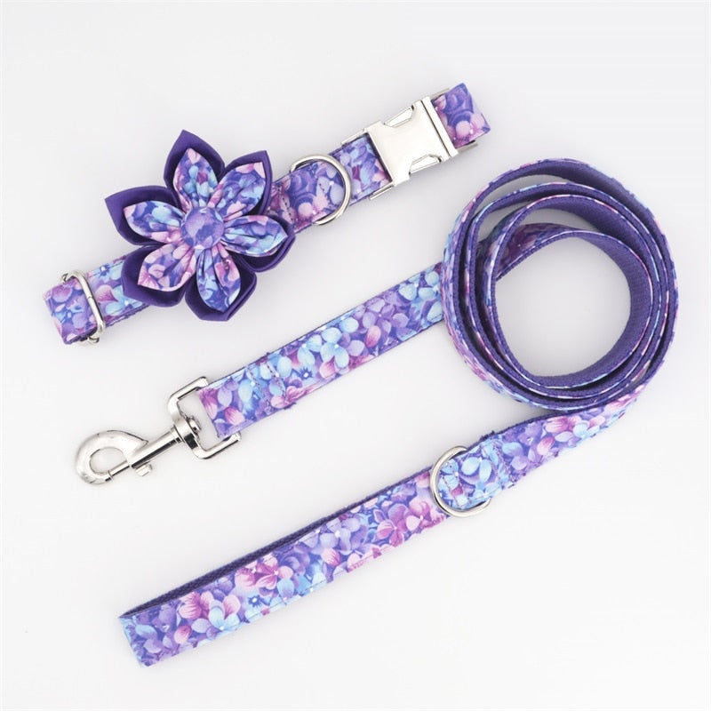 LUXE Lilac Love Design - Playful Pooch Boutique - Online Dog Pet Store
