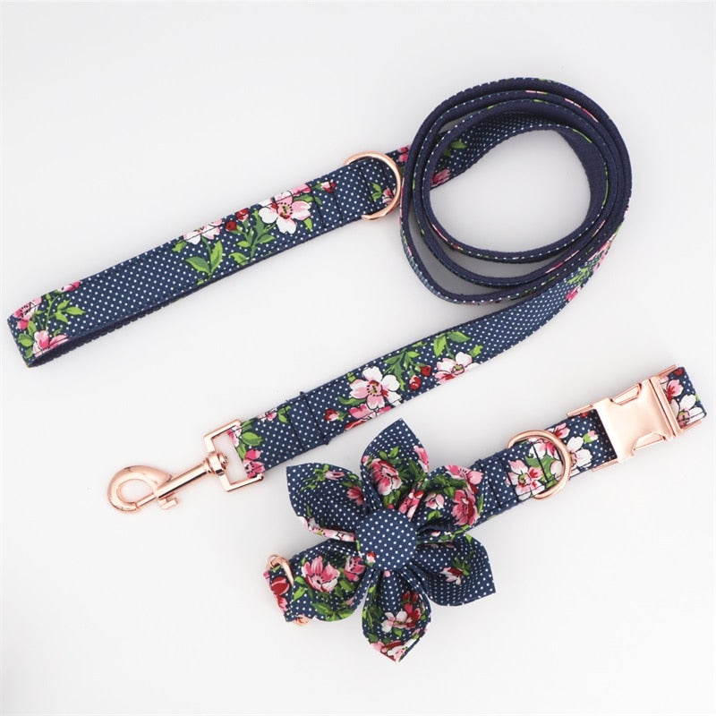 LUXE Wild Flower Design - Playful Pooch Boutique - Online Dog Pet Store