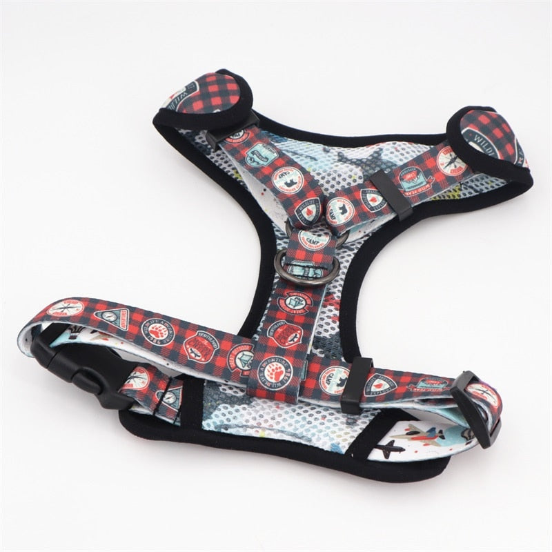 LUXE Explore More Reversible Harness - Playful Pooch Boutique - Online Dog Pet Store