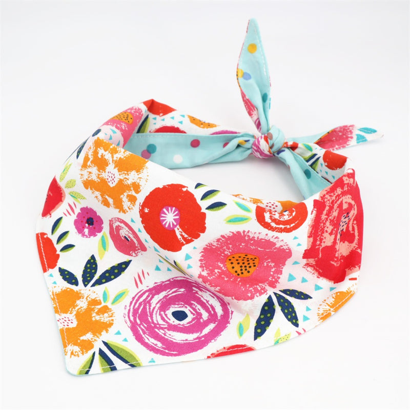 LUXE Aurora Reversible Bandana Set | 2 Pack - Playful Pooch Boutique - Online Dog Pet Store