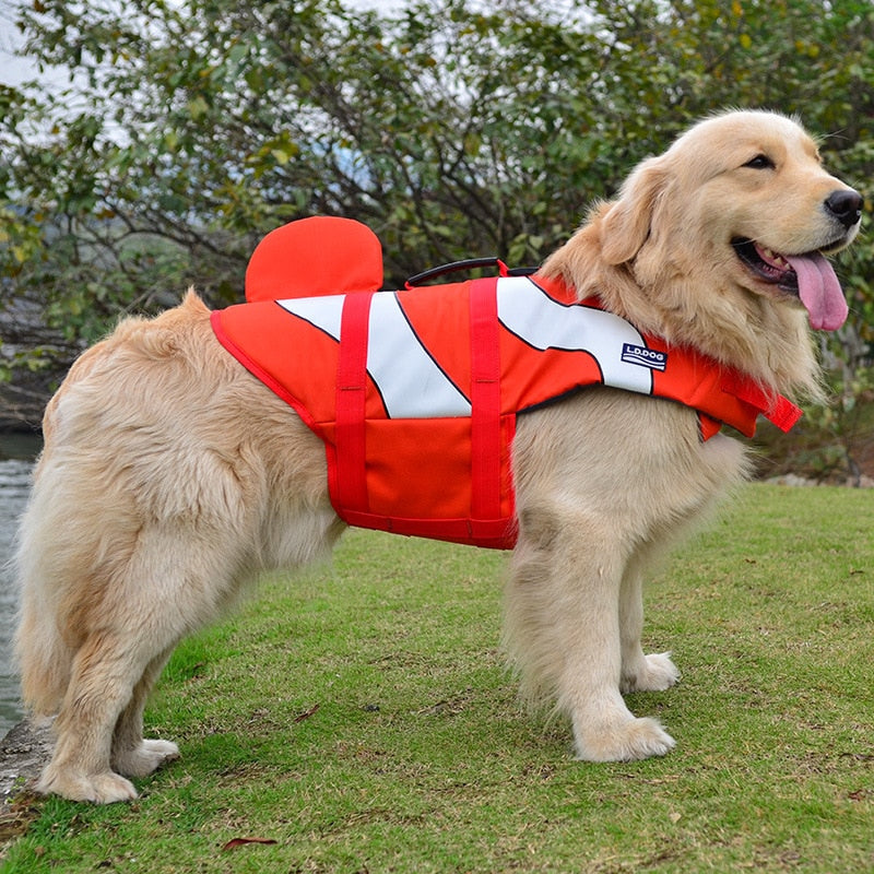 Ultimate Life Jackets | 5 Sea Animals - Playful Pooch Boutique - Online Dog Pet Store