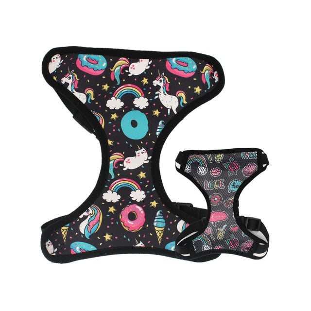 LUXE Fairytale Reversible Harness - Playful Pooch Boutique - Online Dog Pet Store