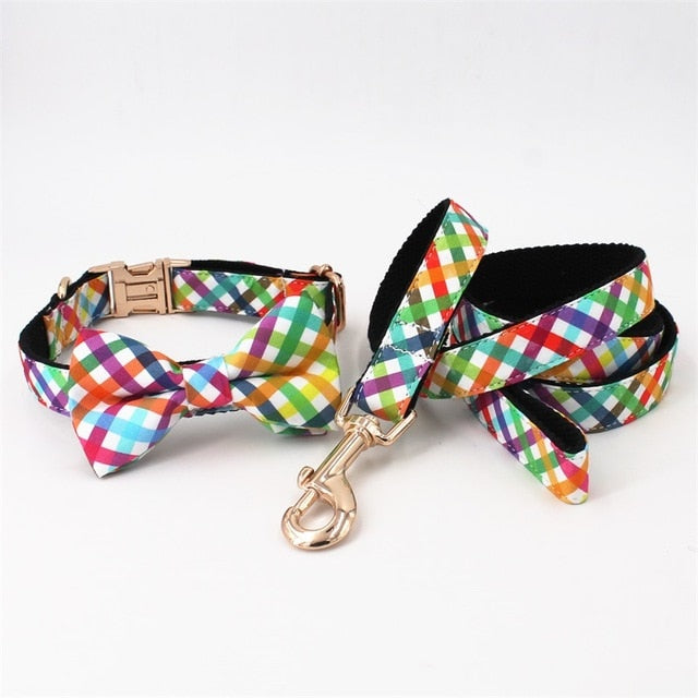 LUXE Rainbow Pop Design - Playful Pooch Boutique - Online Dog Pet Store