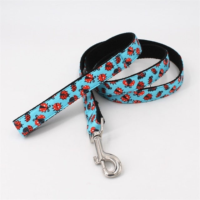 LUXE Ladybug Blues Design - Playful Pooch Boutique - Online Dog Pet Store