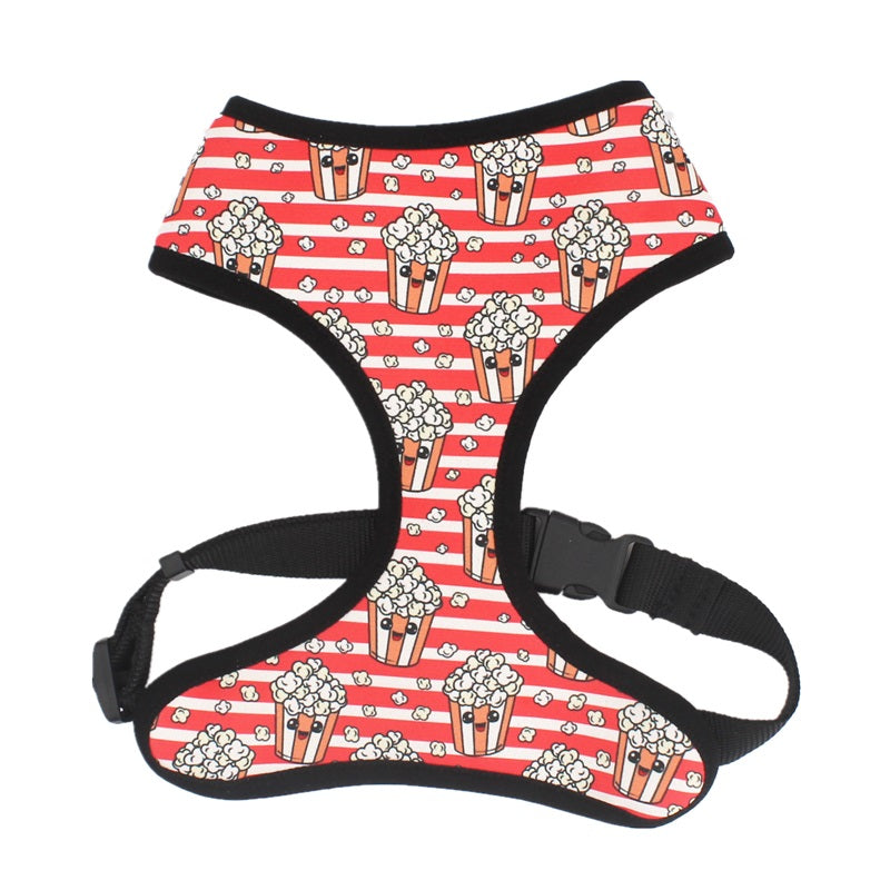 LUXE Popcorn Time Reversible Harness - Playful Pooch Boutique - Online Dog Pet Store