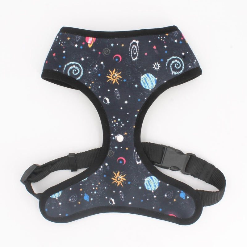 LUXE Space Cadet Reversible Harness - Playful Pooch Boutique - Online Dog Pet Store