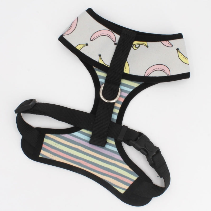 LUXE Bananarama Reversible Harness - Playful Pooch Boutique - Online Dog Pet Store
