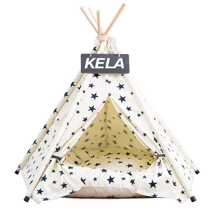 Milky Way Teepee | Bed Not Included - Playful Pooch Boutique - Online Dog Pet Store
