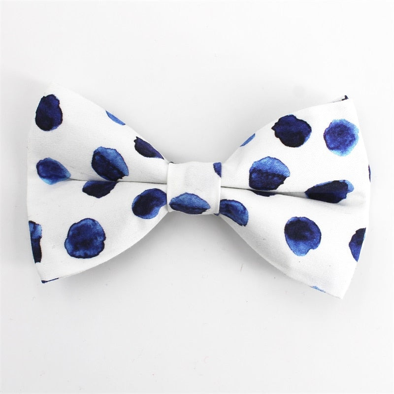 LUXE Indigo Splash Design - Playful Pooch Boutique - Online Dog Pet Store