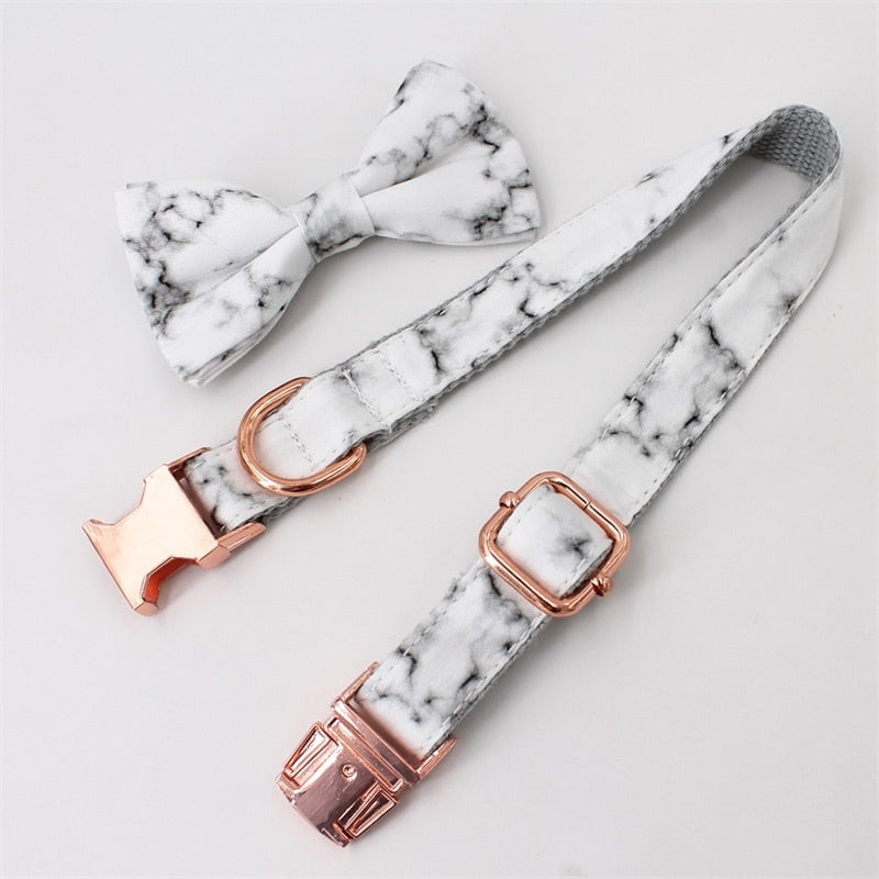 LUXE Marley Marble Design - Playful Pooch Boutique - Online Dog Pet Store