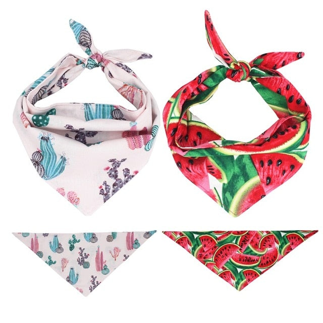 LUXE Buttercup Bandana Set | 2 Pack - Playful Pooch Boutique - Online Dog Pet Store