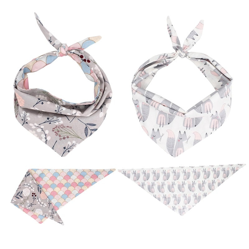 LUXE Bambi Bandana Set | 2 Pack - Playful Pooch Boutique - Online Dog Pet Store